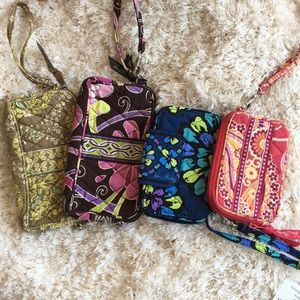 Lot of four Vera Bradley Wallets